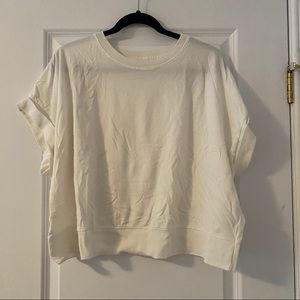 Anthropologie Cropped Tee
